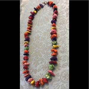 Jewelry - Mult-Colored Stone Necklace